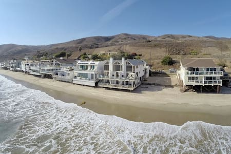 Oceanfront Townhouse on Quiet Malibu Road - Malibu - Daire