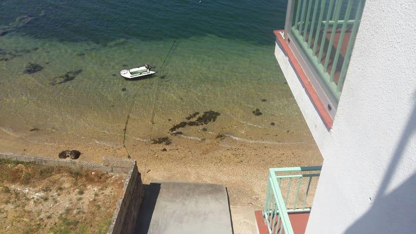 Apartamento a orilla de la playa - Vilanova de Arousa - Apartamento