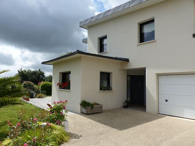 maison contemporaine tout confort Brest 2016 - Gouesnou - Dom