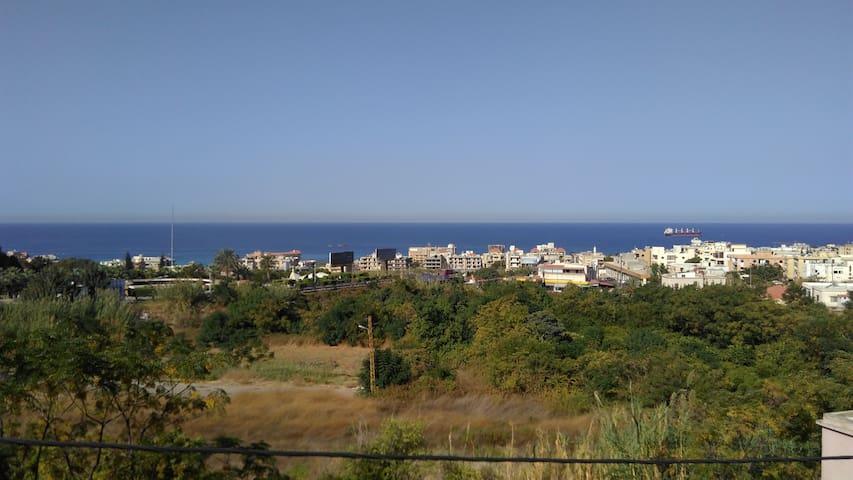 Batroun house with a sea view.