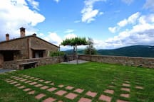 10th century country apartment with view & pool
