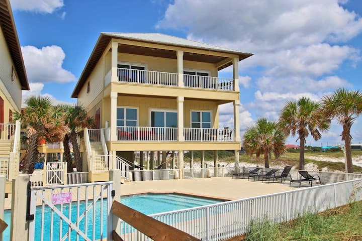Summer Salt East - Beautiful 7BR Only Steps from the Gulf!