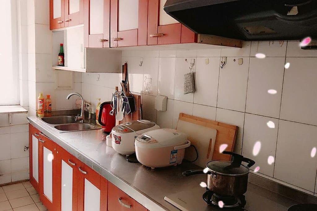 厨房-橙色时光
