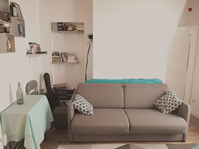 Lovely 2 rooms flat 2 steps from Paris