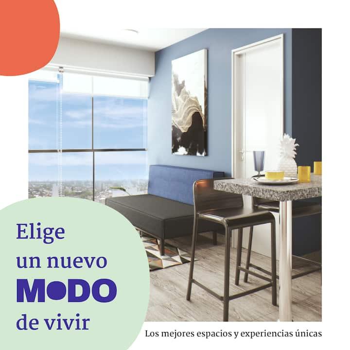 Dpto Amoblado 2 Dormitorios en MoDO San Miguel, Pe