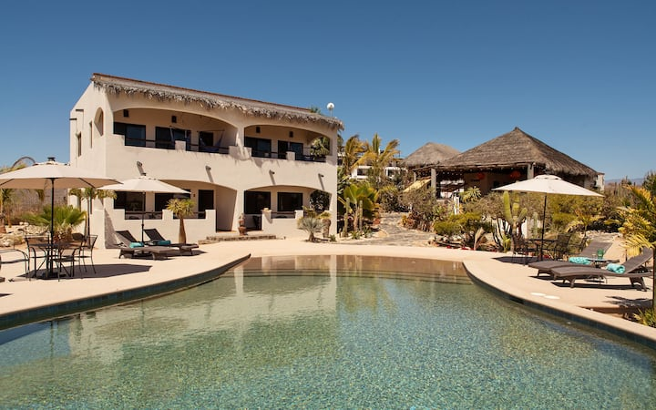 Baja Sol - Steps to Cerritos Beach - Private pool
