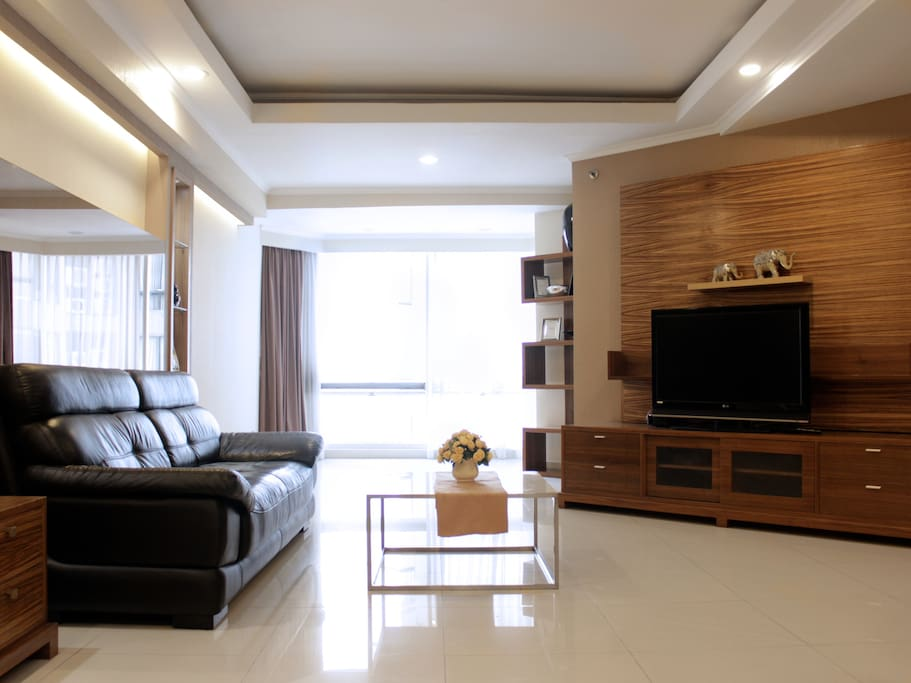 Living room area