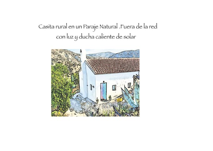 Off grid low carbon holiday Casita. - Sorbas - Hus