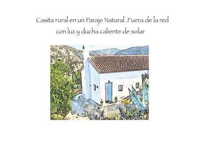 Off grid low carbon holiday Casita. - Sorbas - Huis