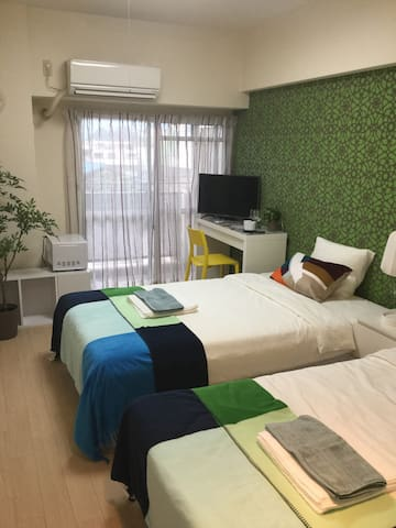 Close to Himeji sta. Good location in Hyogo!#11T2 - 姫路市 - Appartement