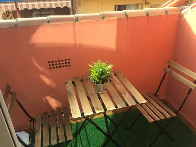 terraza del salón