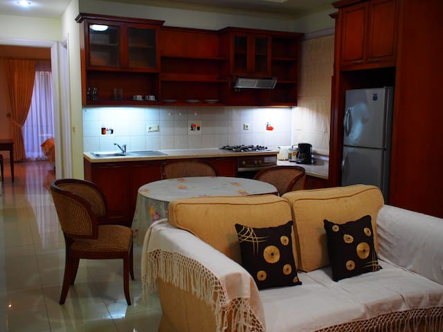 1BR Cozy Boutique Apartment in South Jakarta.