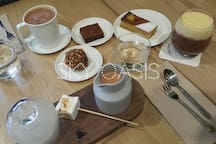 Enjoy afternoon tea in Mork chocolate brew house, Melbourne