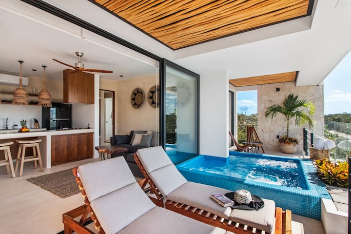 Come and Enjoy your private pool in Xik Tulum