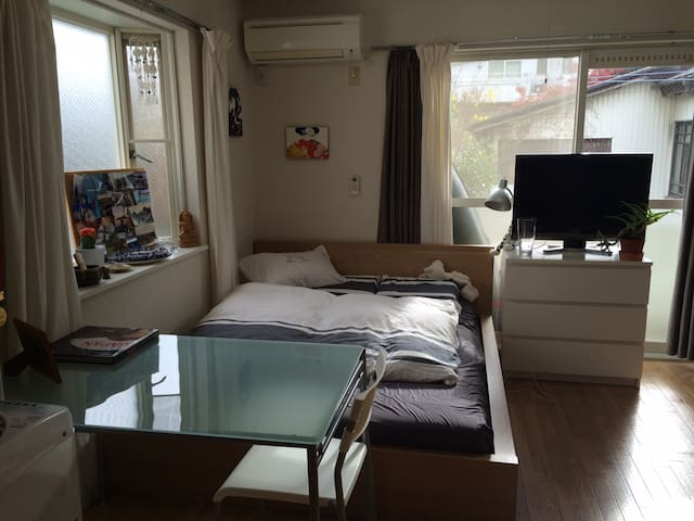 Cozy, quiet, convenient, PocketWiFi - Setagaya-ku - Apartmen