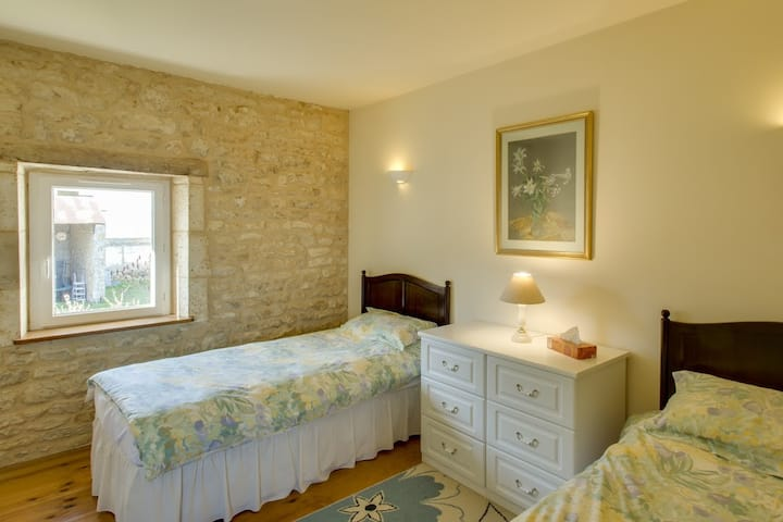 Charente Bed & Breakfast, Twin Room