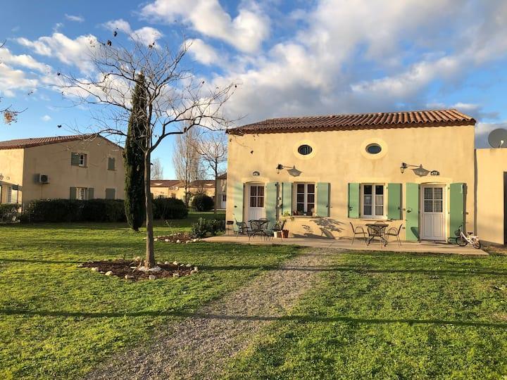 Gallargues le Montueux, villa 4 couchages