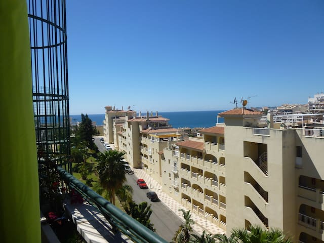1 double bed, bathroom, swimming pool, terraces - Benalmádena - Apartment
