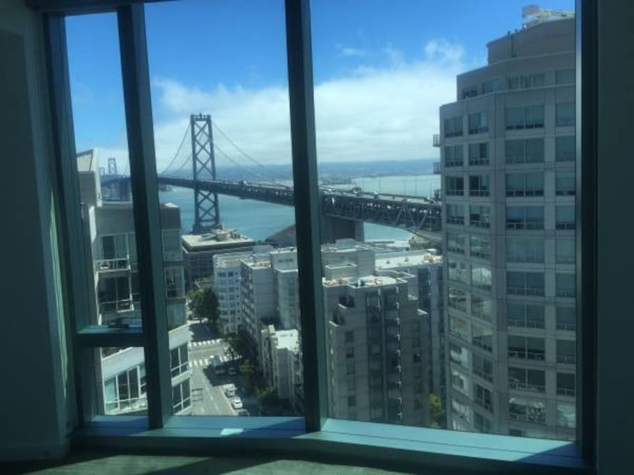 Amazing views of Bay Bridge from your room
