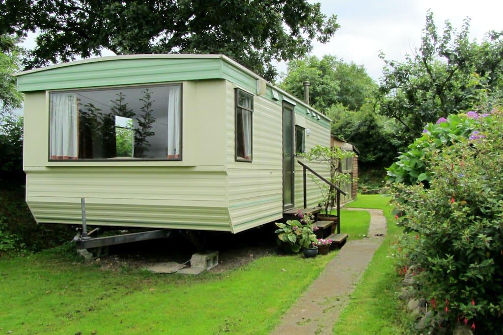On the doorstep of Dartmoor. Peaceful & harmonious accommodation set in paradise.