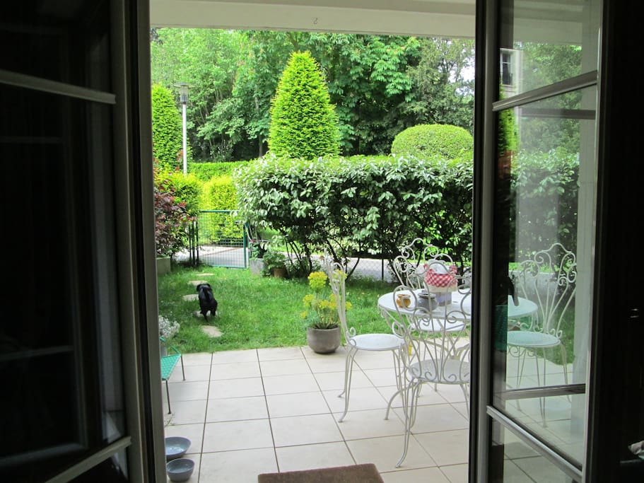 Le jardin privatif 50m2