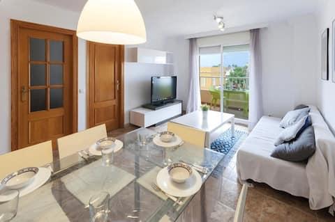 Coqueto apartamento en Daimus de 2 habitaciones