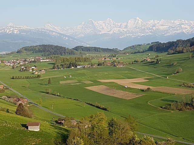 Schönes Landhaus zw Bern und Thun