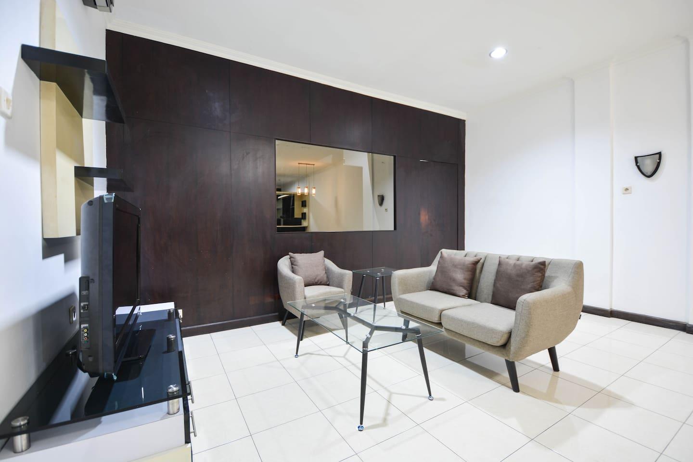 Lavabo Salle De Bain Ouedkniss ~ comfortable 1 bedroom in pondok indah room 301 kebayoran baru