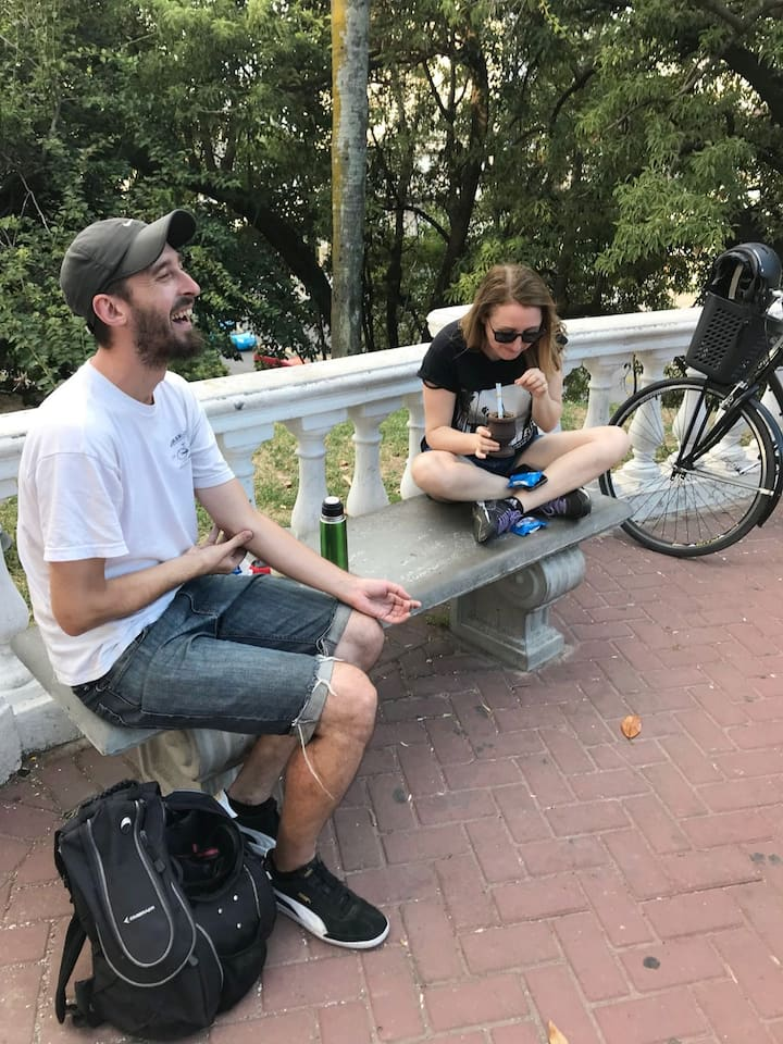 Bici Tour parada de Mate