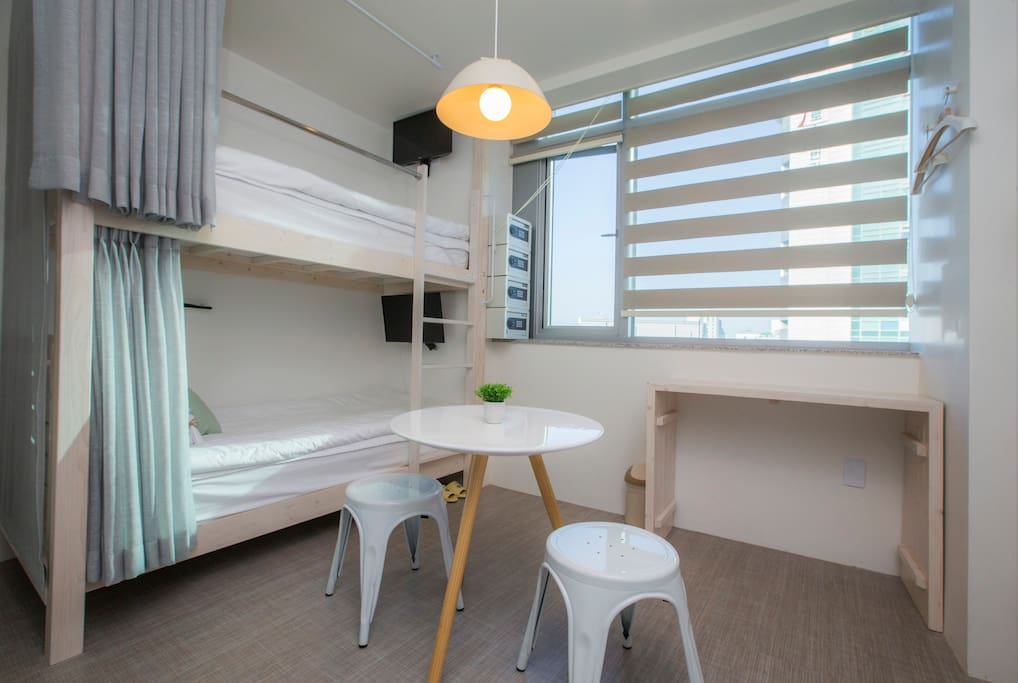 4 persons dormitory for women
