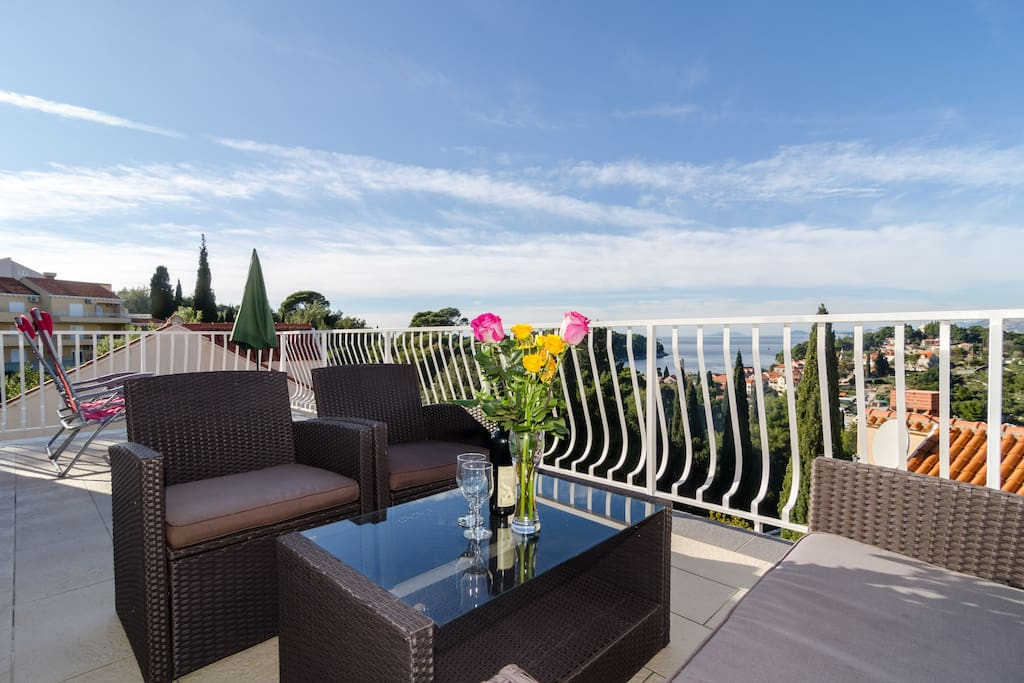 Terrace with amazing view