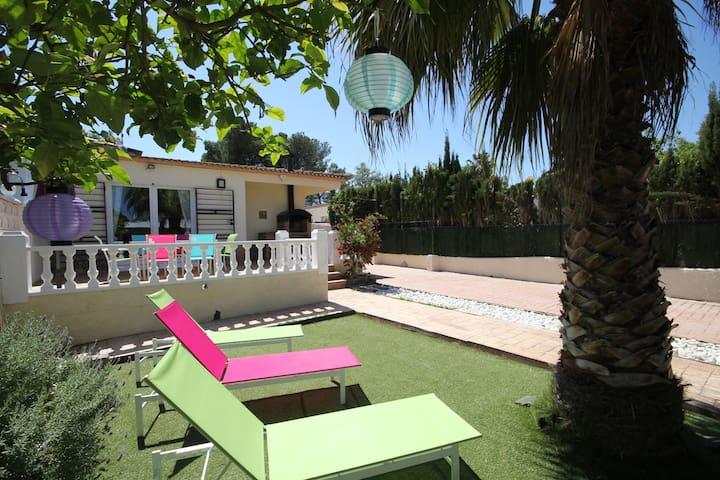 Casa Bijou - 5 min Riumar Playa * 2h Barcelona - Riumar - Hus