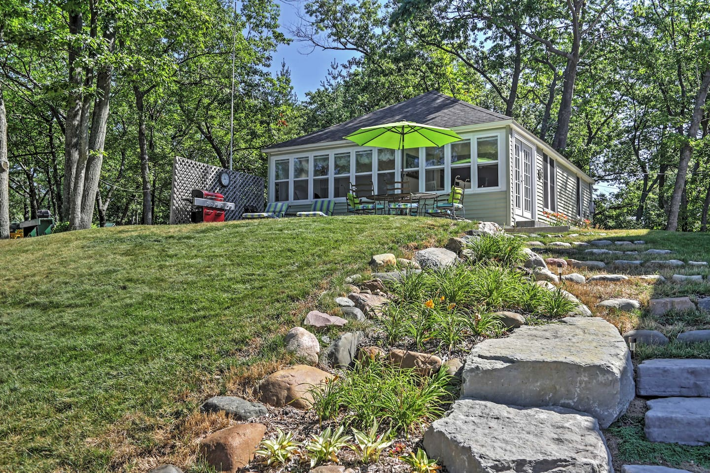 You'll love the spaciousness of this property.