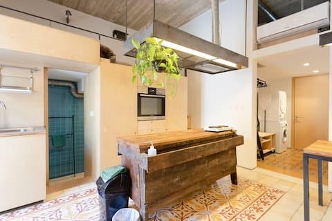 Micro unique studio-apartment