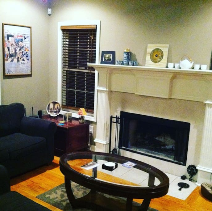 All common rooms are furnished and contain hardwood flooring
