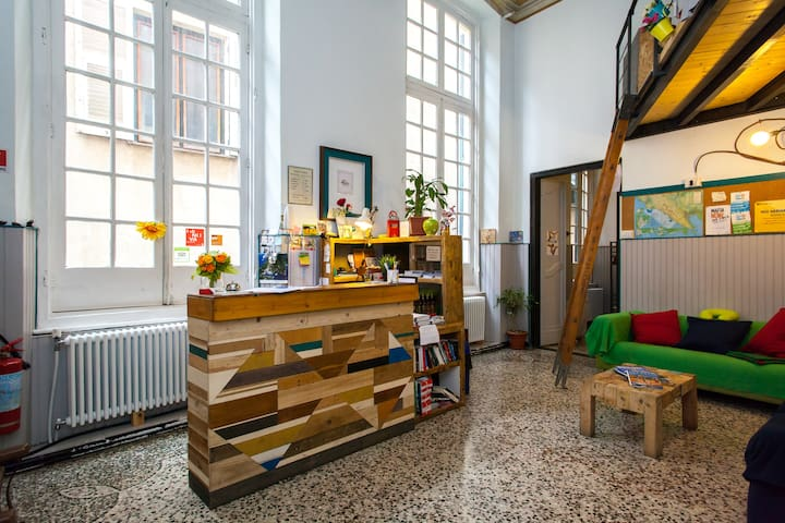 OStellin Genova Hostel (QUADRUPLE ROOM Dependence)
