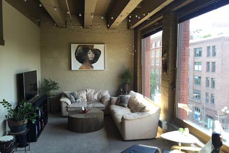 Artsy 2 Bedroom Bungalow Downtown - Seattle - Apartment