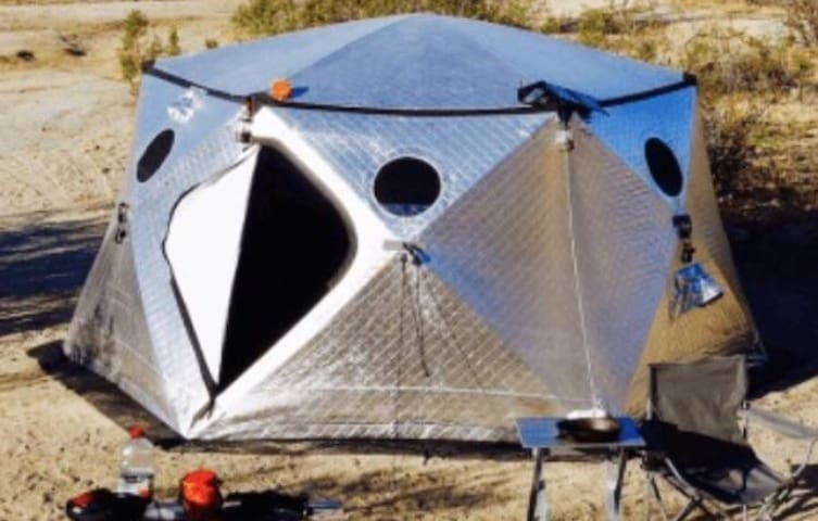 ShiftPod for Burningman in BRC 2018