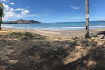 0.3km from this beach!