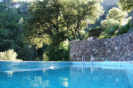 Gîte de charme avec piscine - Mialet - Rumah