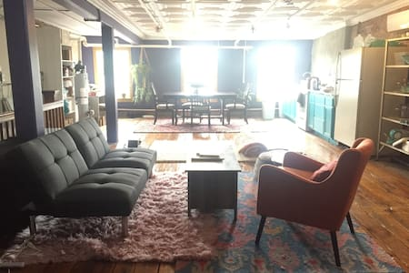 Gorgeous and Expansive Uptown Kingston Loft