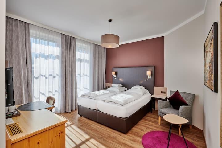Hotel am See (Neutraubling), Komfort Doppelzimmer im modernen Stil