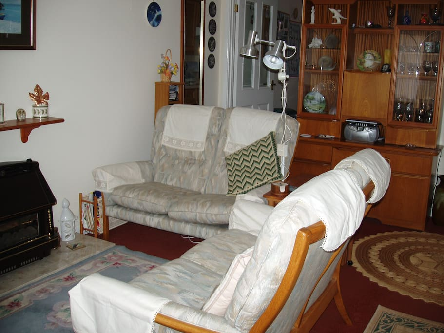 Comfortably furnished living room