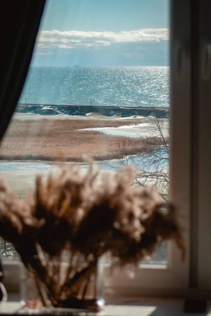 Уютные апартаменты с видом на море