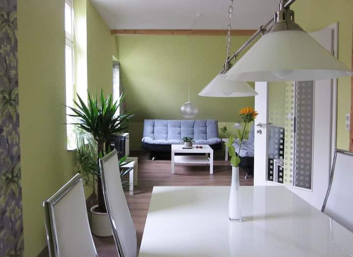 Ferienwohnung im Fachwerkhaus und doch modern