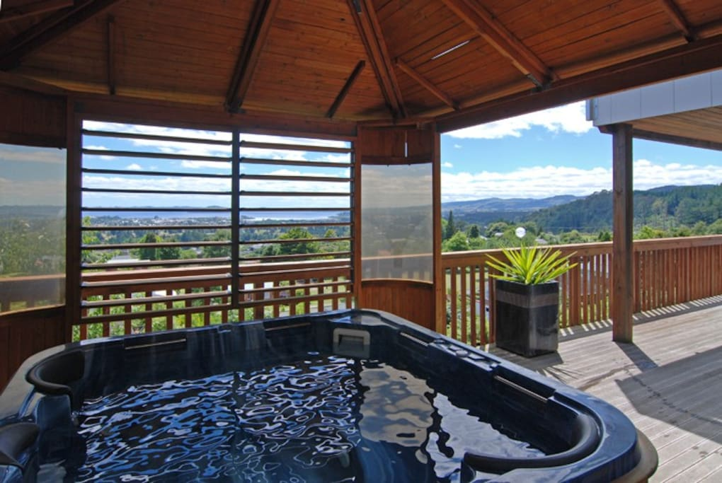 Spa on lower deck