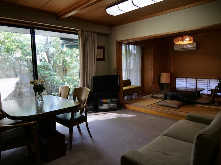 European comfort with Japanese style B&B