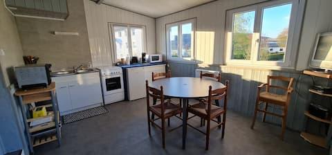 Appartement individuel dans maison avec garage