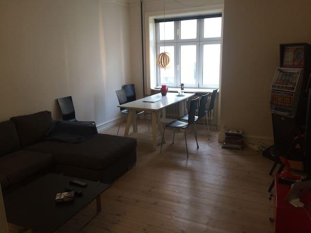 Old apartment in a quiet area of town - Kopenhagen - Appartement