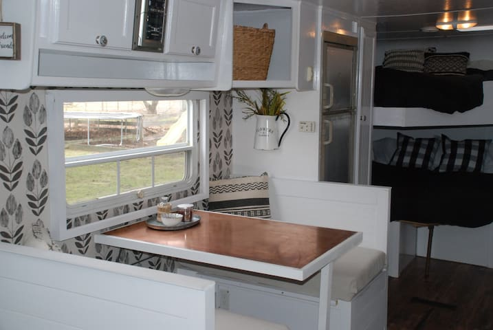 Farmhouse Camper, Delivery and Set Up Included!